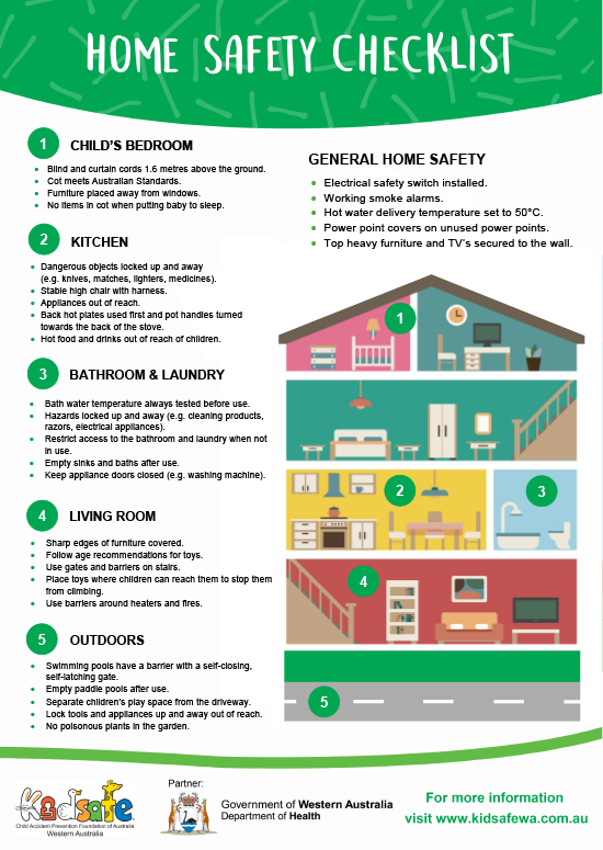 CaLD Home Safety Checklist
