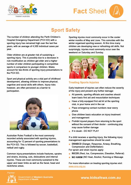 Sport Safety